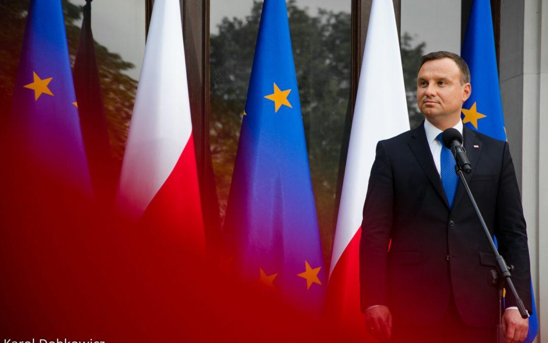 Spotkanie Prezydenta Andrzeja Dudy z ERS